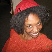 Santa Baby: Yolanda's New Hat From Harvested Yarn For The Solstice of Soul