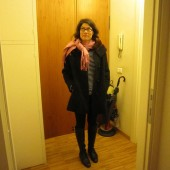 Capsule Travel Wardrobe: What I Wore Today 10.28.11, Florence