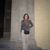 Capsule Travel Wardrobe: What I Wore Today, 9.29.11 Florence