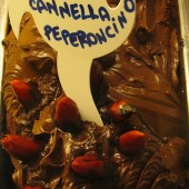 Chocolate-Cinnamon-Hot Chili Pepper Gelato From Gelateria Porta Romana, Florence, Italy