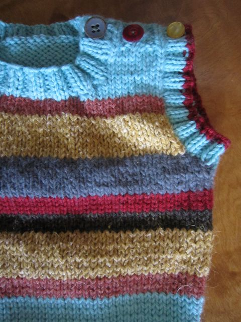 Free Knitting Pattern The Zero Dollar Hipster Baby Sweater My