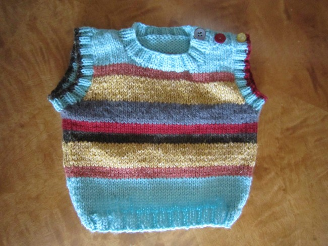 Hipster Knitting Patterns : Free Knitting Pattern: The Zero Dollar Hipster Baby Sweater! My Roman Apart...