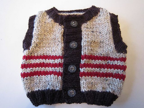 hobbitsweaterblog The Lord of the Rings Sweater Vest For Hobbits With Too Much Leftover Yarn