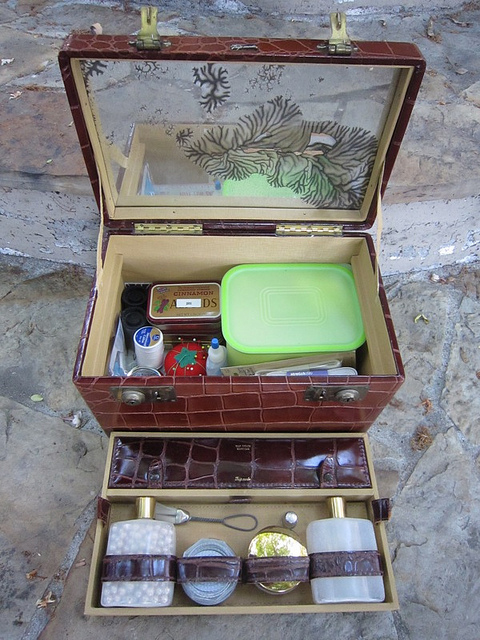 travelcase41 Luxury Recycling: Create A Sewing Box From Vintage Luggage