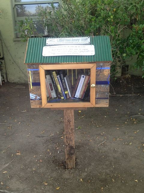 littlefreelibrary1 Green Gift Guide: Free Books For A Year