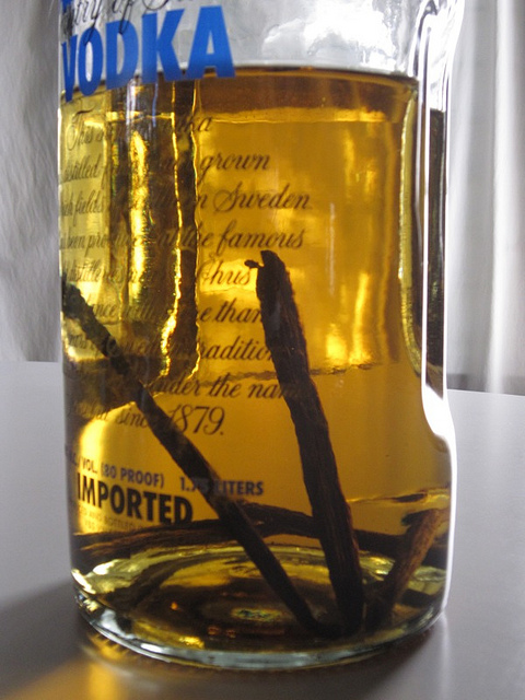 How To Make Homemade Vanilla Extract Out Of Cheap Vodka ...